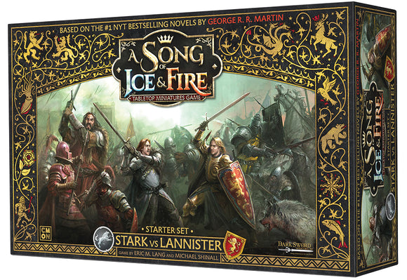A song of ice & fire tabletop miniatures game: stark vs lannister starter set Board Game