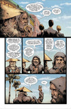 Sample comic pages from Goodnight Paradise by Joshua Dysart and Alberto Ponticelli
