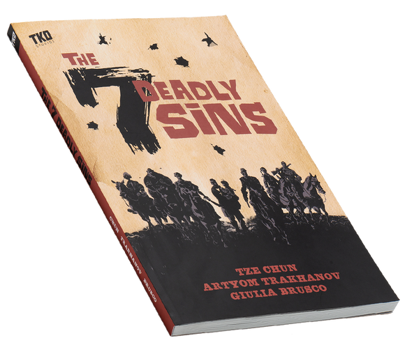 The 7 Deadly Sins TP - Western action graphic novel
