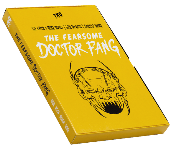 The Fearsome Doctor Fang - Issues Slipcase - Graphic Novel  by TKO Studios