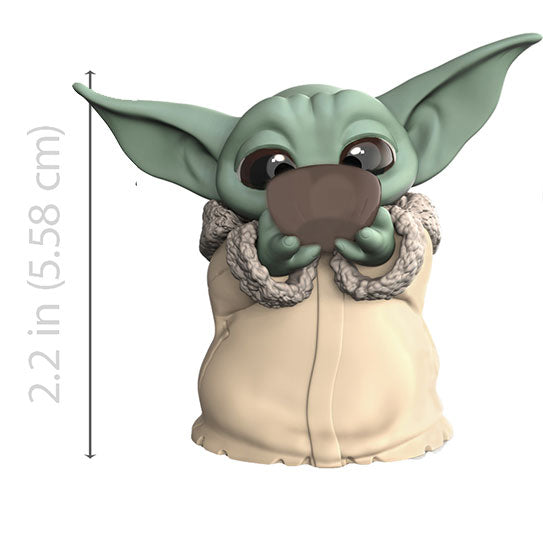 Star Wars Mandalorian Baby Yoda Soup Figure - Toys and Collectible