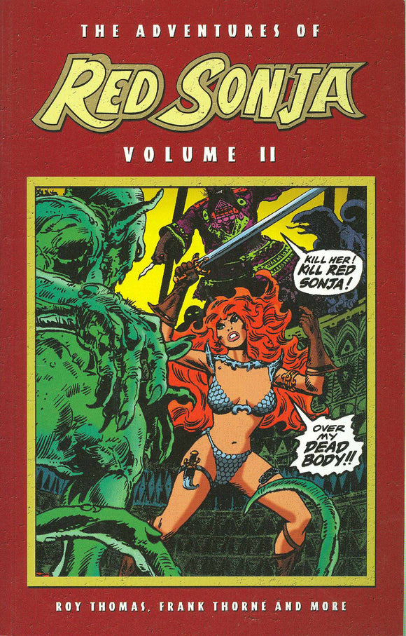 Adventures Of Red Sonja Tp Vol 02
