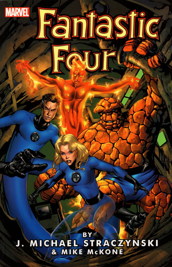 Fantastic Four J Michael Straczynski Tp Vol 01
