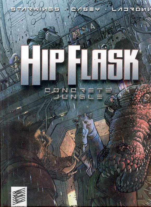 Hip Flask Concrete Jungle Hc