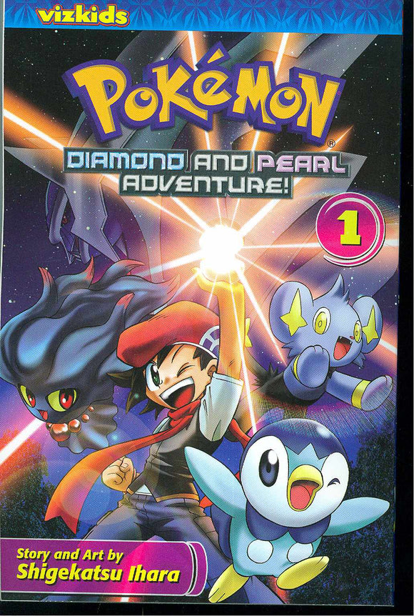 Pokemon Diamond & Pearl Adventure Gn Vol 01