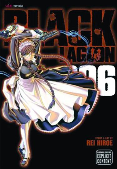 Black Lagoon Gn Vol 06