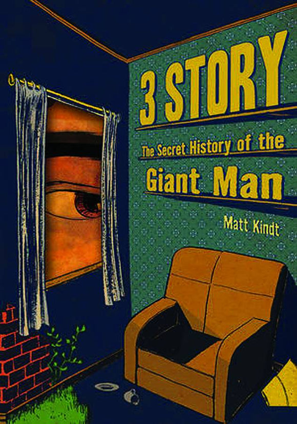 3 Story Secret History Of Giant Man Hc