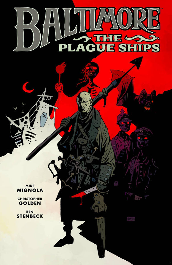 Baltimore HC Vol 01 Plague Ships - Books