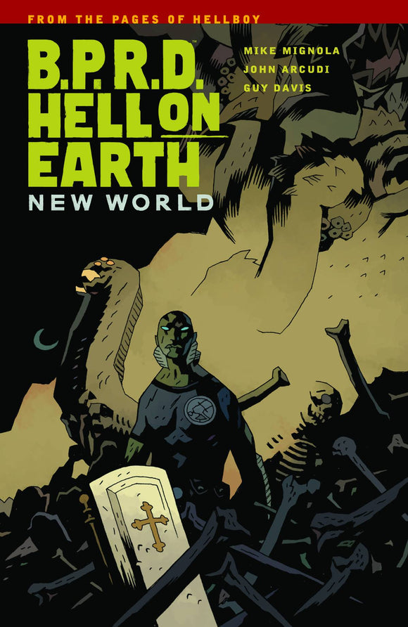 Bprd Hell On Earth Tp Vol 01 New World