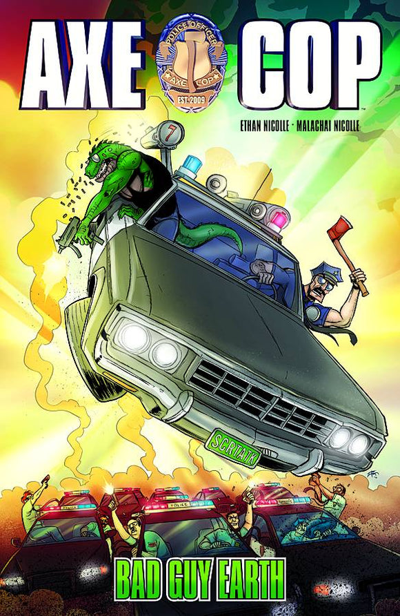 Axe Cop TP Vol 02 Bad Guy Earth - Books