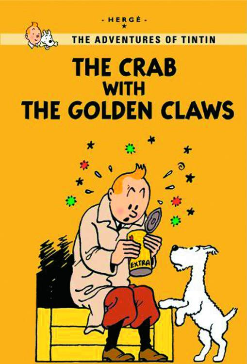 Tintin Young Reader Ed Crab & Golden Claw
