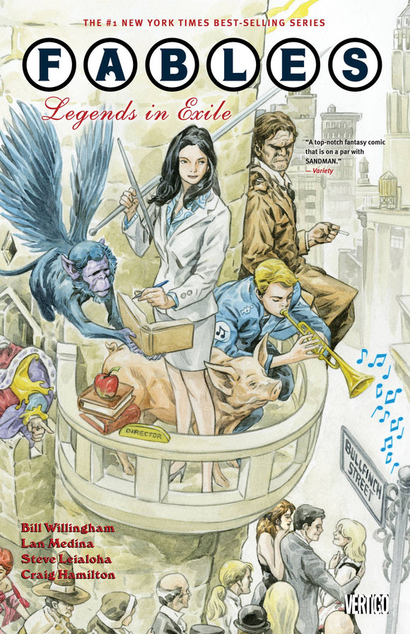 Fables TP Vol 01 Legends In Exile New Ed - Books