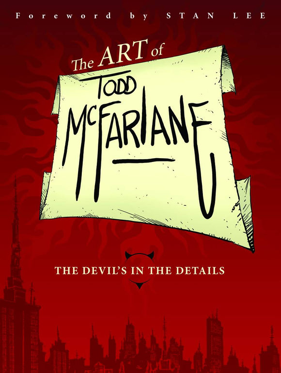 Art Of Todd Mcfarlane Devils In The Details Tp