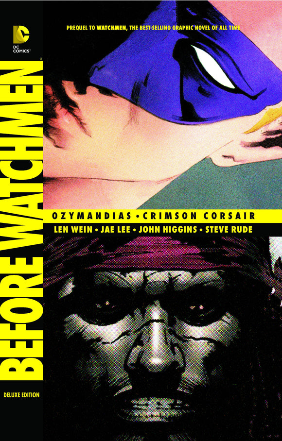 Before Watchmen Ozymandias Crimson Corsair Dlx Hc