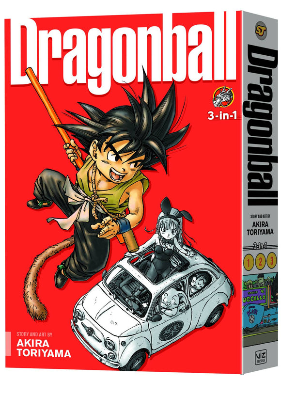 Dragon Ball 3In1 Tp Vol 01