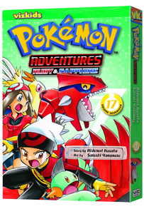 Pokemon Adventures Gn Vol 17 Ruby Sapphire