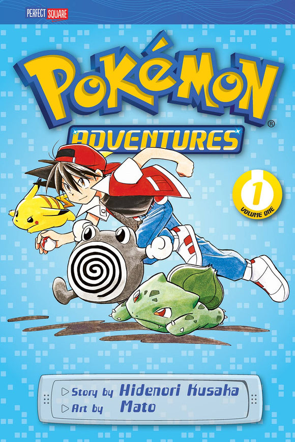 Pokemon Adventures GN Vol 01 Red Blue - Books
