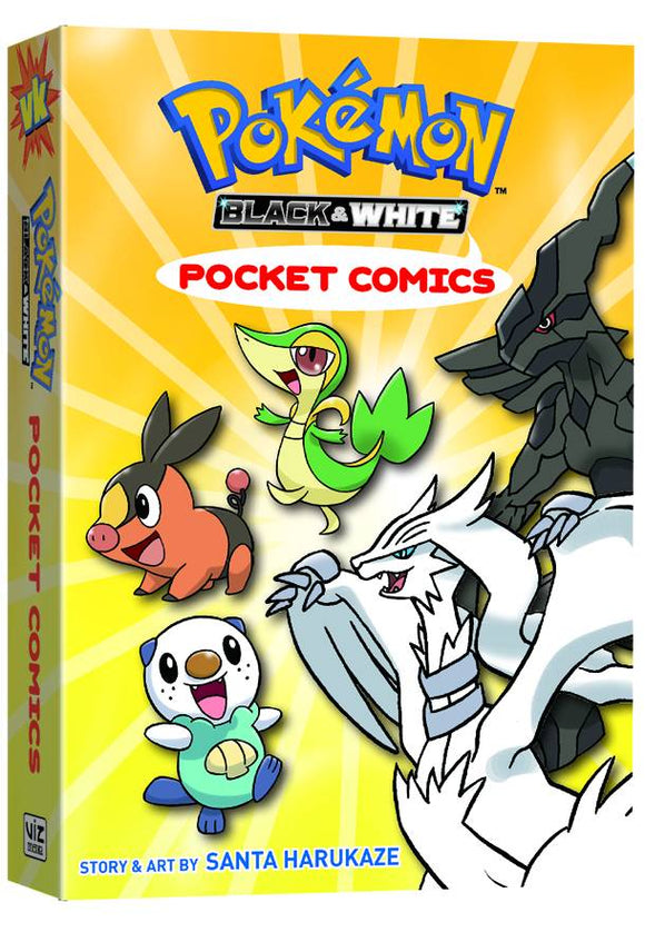 Pokemon Pocket Comics Black & White GN - Books