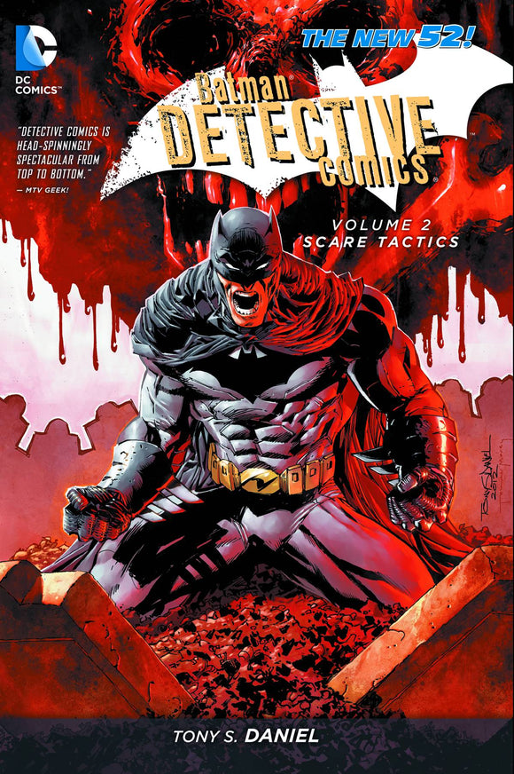 Batman Detective Comics Tp Vol 02 Scare Tactics