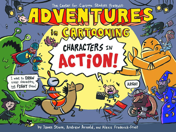 Adventures In Cartooning Characters In Action Sc