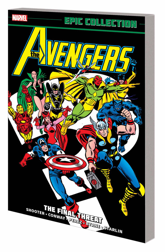 Avengers Epic Collection Tp Final Threat