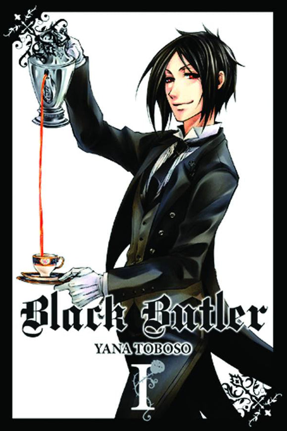 Black Butler Tp Vol 01 New Ptg