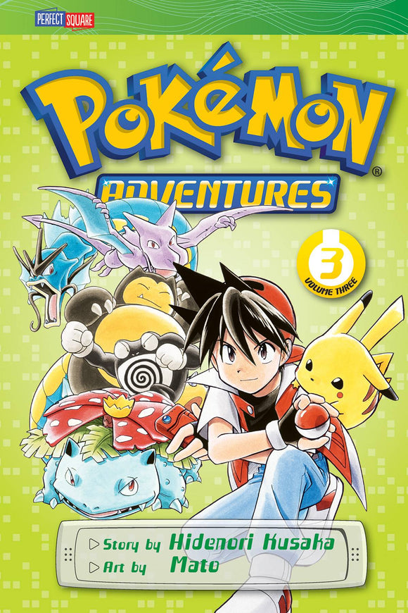 Pokemon Adventures GN Vol 03 Red Blue - Books