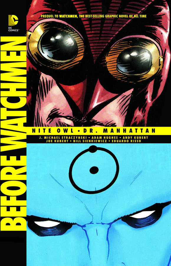 Before Watchmen Nite Owl Dr Manhattan Tp