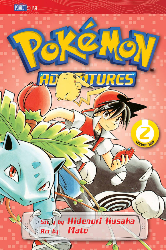 Pokemon Adventures GN Vol 02 Red Blue - Books
