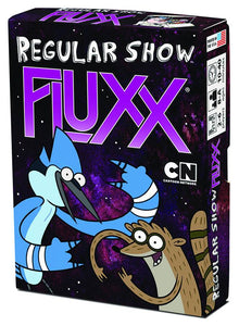 Regular Show Fluxx Card Game Display