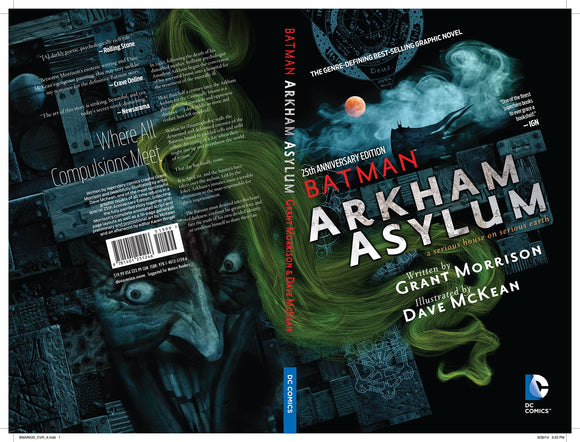 Batman Arkham Asylum 25Th Anniv Dlx Ed TP - Books