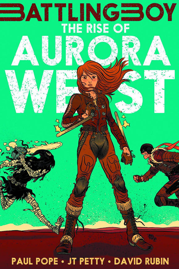 Battling Boy Rise of Aurora West GN - Books