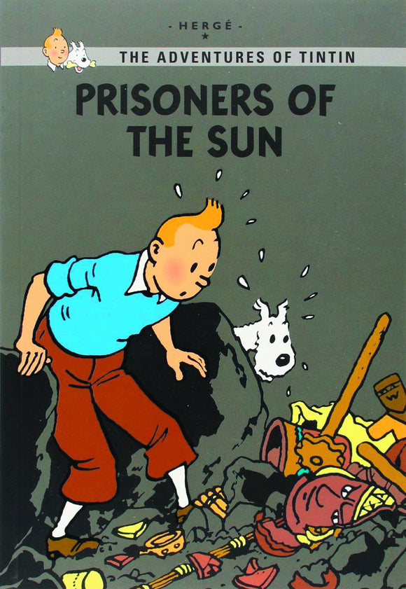 Tintin Young Reader Ed Prisoners Of Sun