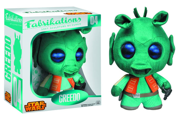 Fabrikations Greedo Soft Sculpt Plush Fig