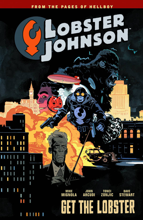 Lobster Johnson Tp Vol 04 Get The Lobster