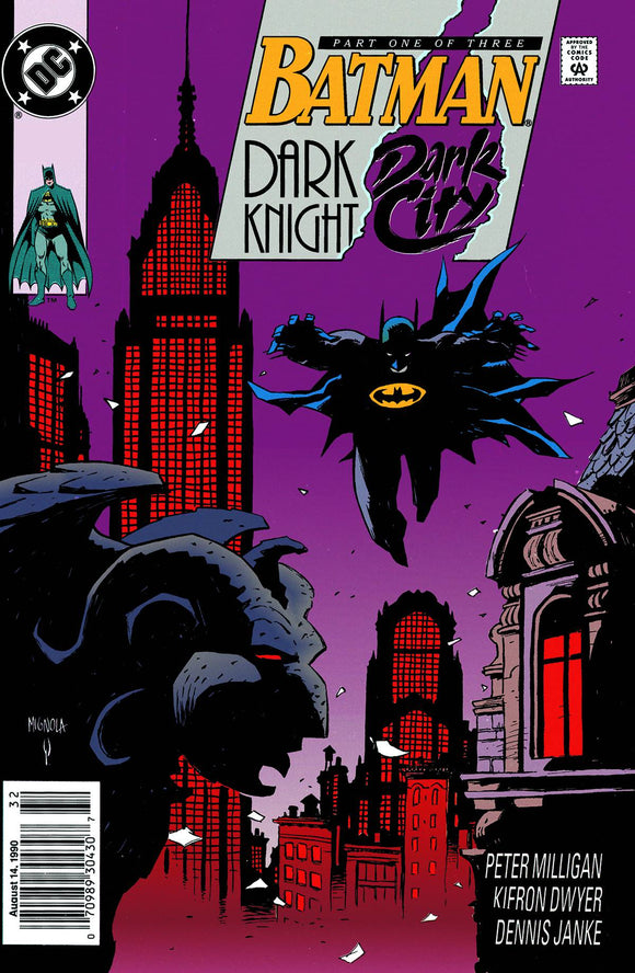 Batman Dark Night Dark City Tp