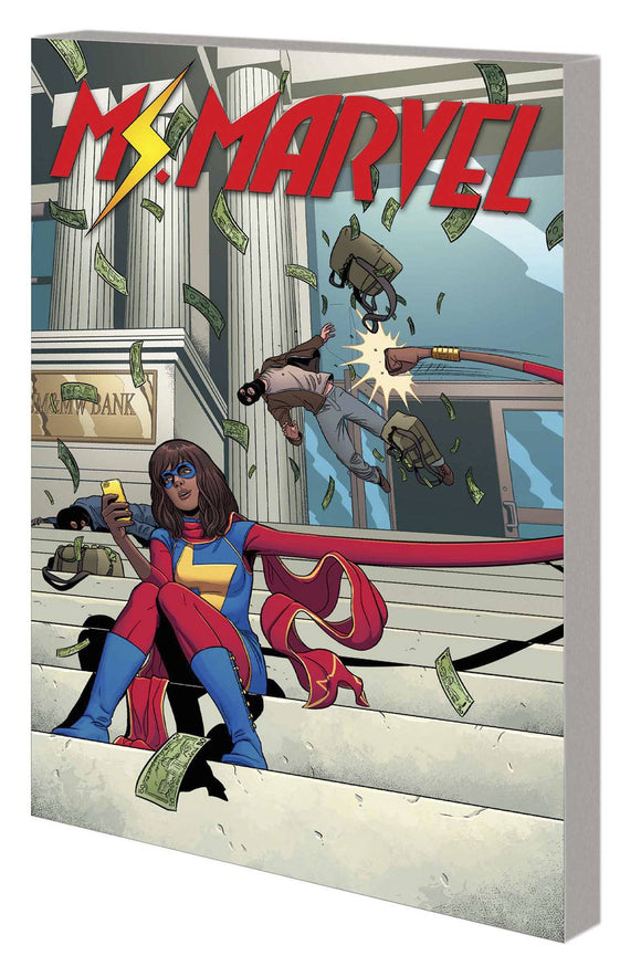 Ms Marvel TP Vol 02 Generation Why - Books