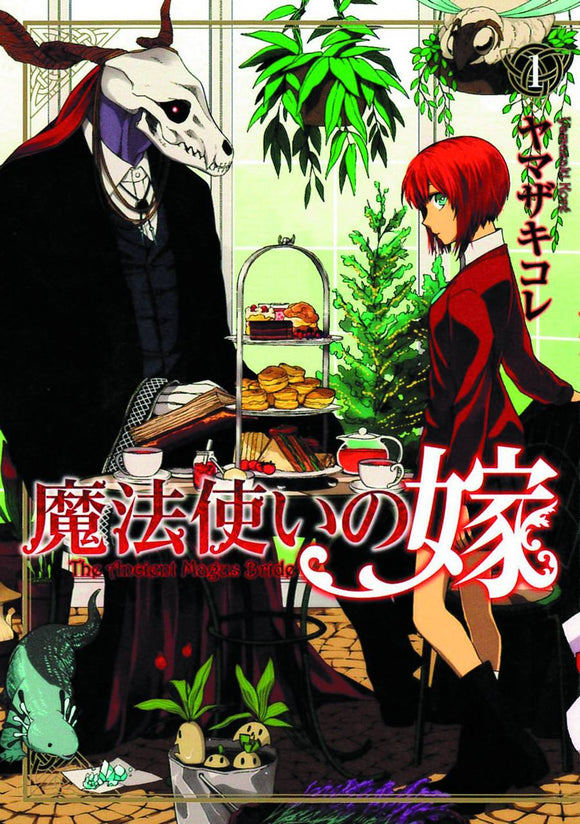 Ancient Magus Bride GN Vol 01 - Books