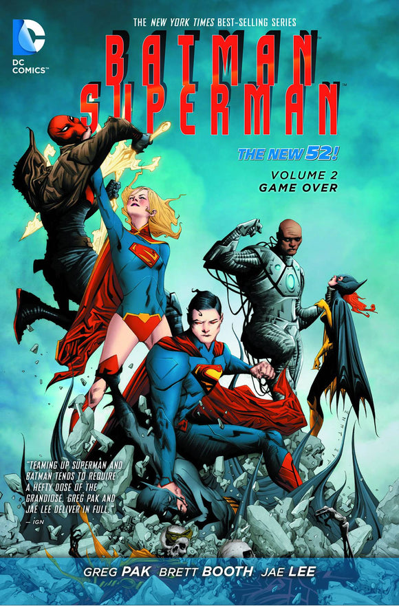 Batman Superman Tp Vol 02 Game Over