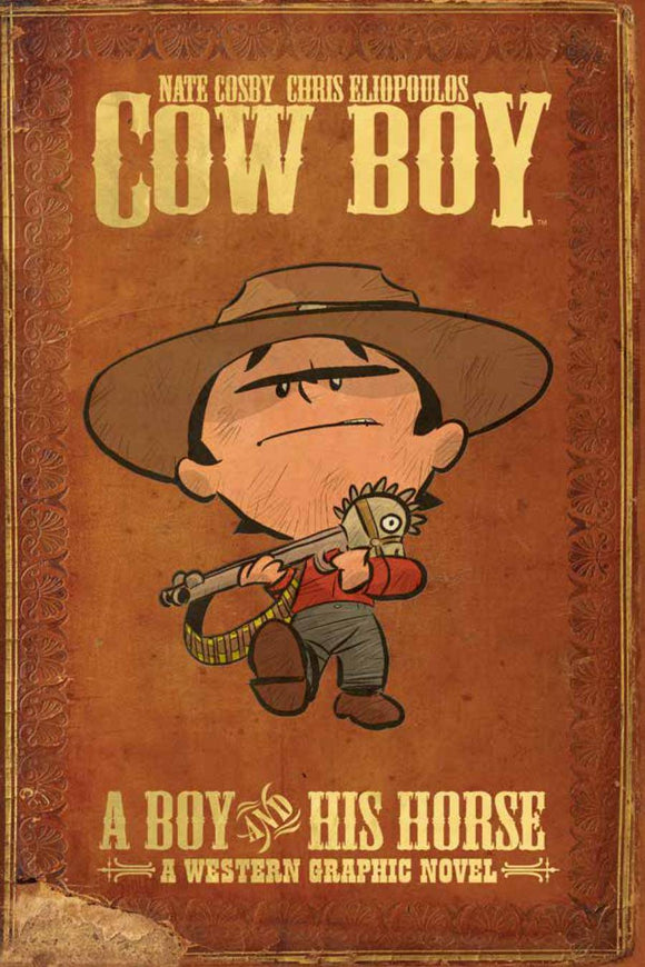 Cow Boy Tp Vol 01 Boy And His Horse