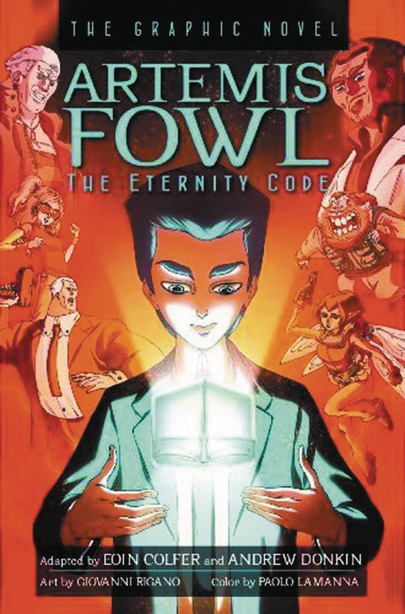 Artemis Fowl Gn Vol 03 Eternity Code New Ptg