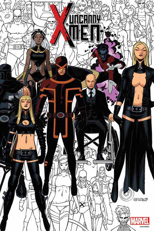 Uncanny X-Men #600 By Bachalo Poster
