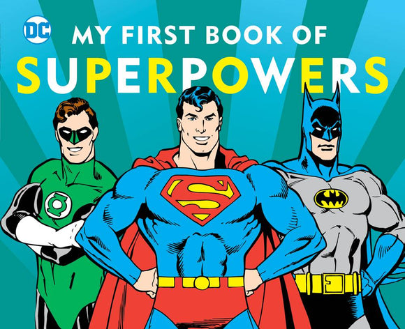 Dc Super Heroes My First Book Of Super Powers Board Book