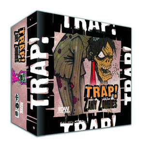 Trap Zany Zombies Card Game
