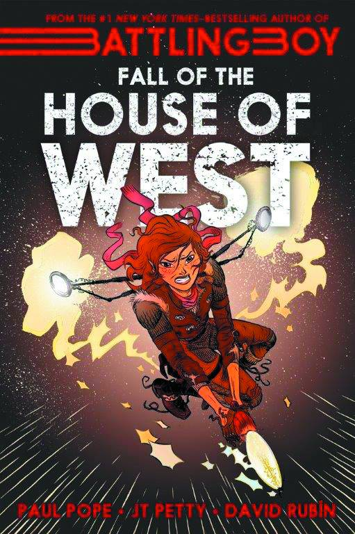 Battling Boy Fall of House of West GN - Books