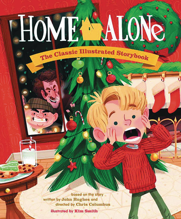 Home Alone Classic Illustrated Storybook