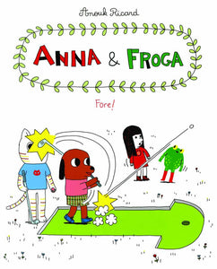 Anna & Froga Fore Hc