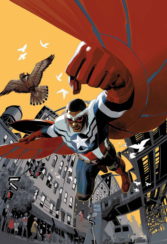 Captain America Sam Wilson #1 By Acuna Poster