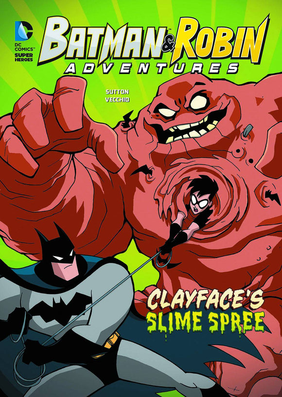 Batman & Robin Adv Yr Tp Clayfaces Slime Spree
