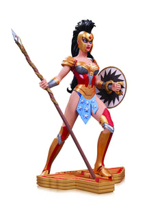 Wonder Woman Art Of War Statue By Amanda Conner
